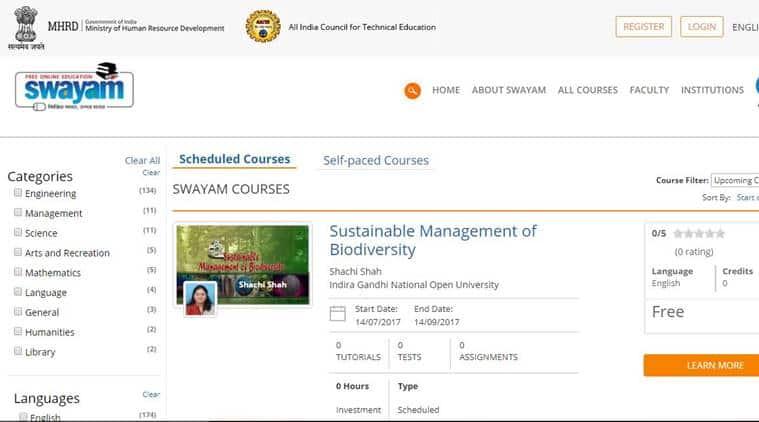 swayam, swayam prabha, ict, digital education, swayam portal
