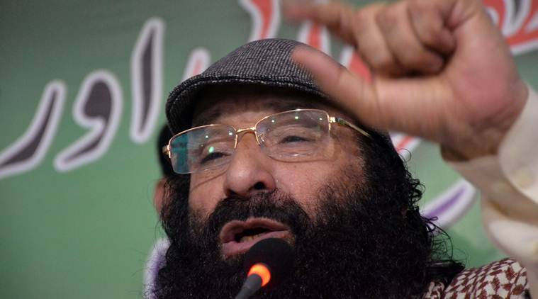 Syed Salahuddin, Hizbul Mujahideen, Hizbul Mujahideen chief, global terrorist, Salahuddin global terrorist, Salahuddin terror attacks, India express news