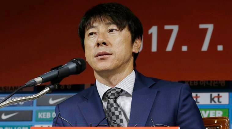 FIFA world cup 2018, Shin Tae-yong, Shin Tae-yong, South Korea, Korea Football Association, football news, Sports news, indian express