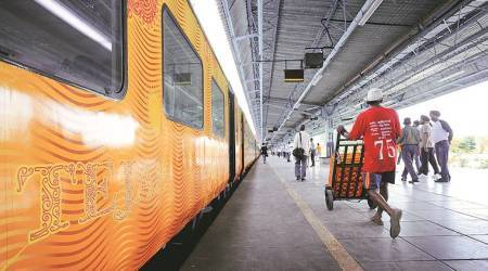 Tejas, Tejas Express, IRCTC, Indian Railways, Indian Railway, Indian Railway Tejas Express, Tejas Express stations, Tejas Express tickers, Mumbai-Ahmedabad Tejas Express, India news, Indian Express
