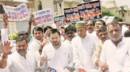 If RJD was corrupt, why did you come with us: Tejashwi asks CM Nitish Kumar