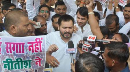 Nitish Kumar has insulted people's mandate, will pay for it: Tejashwi Yadav