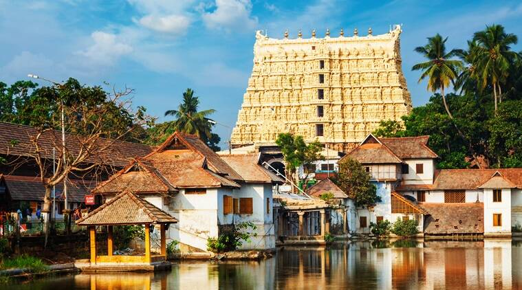 Padmanabhaswamy temple, Padmanabhaswamy temple, diamonds missing from kerala temple, kerala temple theft, indian express