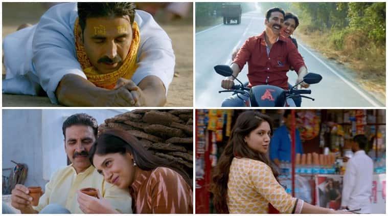 Toilet Ek Prem Katha, Akshay Kumar, Bhumi Pednekar, Toilet Ek Prem Katha song Bakheda, Toilet Ek Prem Katha song Bakheda stills,