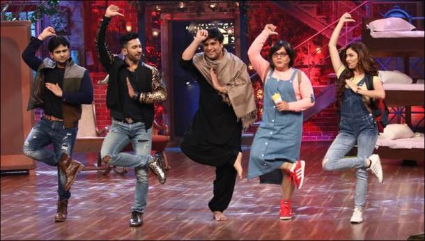 the drama company, krushna abhishek, gauhar khan, terence lewis, mithun chakraborty, the drama company pics