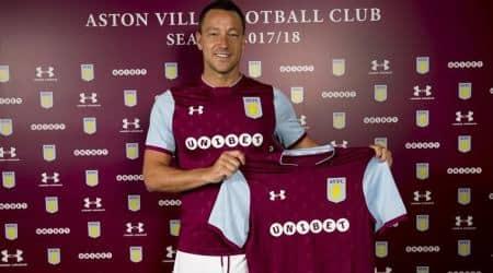 Former Chelsea captain John Terry joins AstonVilla
