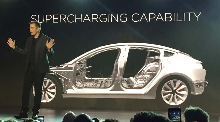 Tesla, Tesla Model 3, Model 3 sale date, Tesla Model 3 India price, Tesla model 3 goes on sale, Elon Musk, Elon Musk Tesla Model 3, Model 3 sale, Tesla Model 3 India