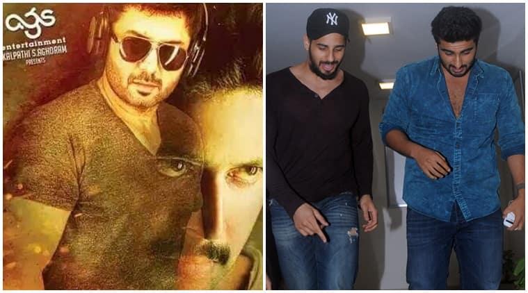 arjun kapoor, sidharth malhotra, thani oruvan, arjun Kapoor thani oruvan remake,sidharth malhotra thani oruvan remake,