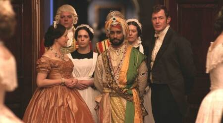 The Black Prince movie review: Duleep Singh is seen in the embarrassingly inadequate form of Satinder Sartaaj