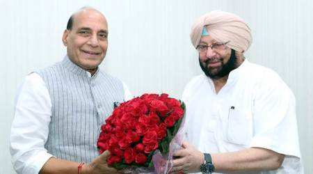 SYL row: Amarinder speaks to Rajnath, seeks mediation with Haryana