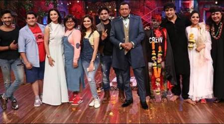 Gauahar Khan and Terence Lewis shake a leg on the sets of Krushna Abhishek's The Drama Company