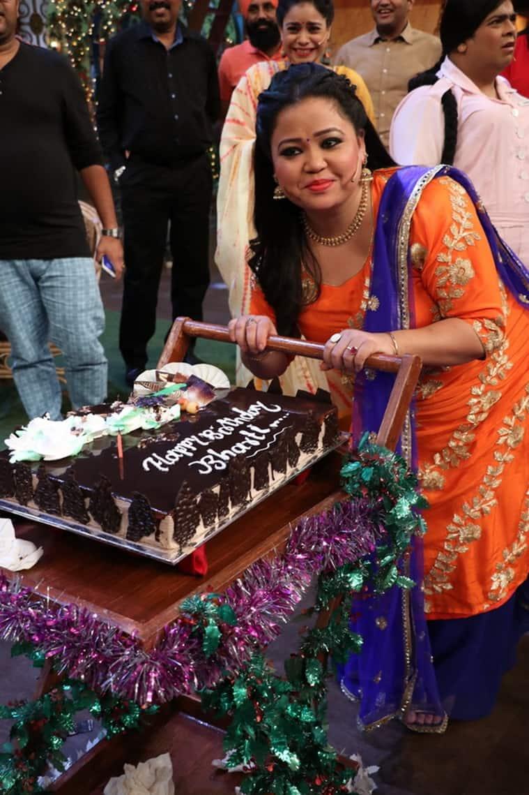 Bharti Singh, Bharti Singh birthday celebration, Bharti Singh cake, Bharti Singh news, Bharti Singh birthday celebrations, Krushna Abhishek