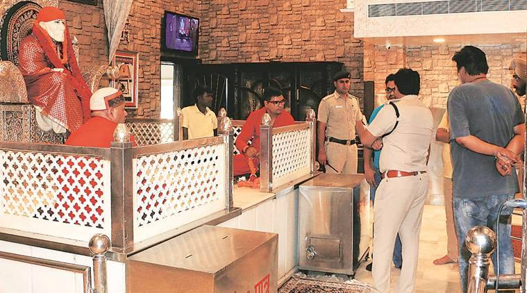 chandigarh, places of worship, robbery cases, chandigarhcrime cases, temple, church, indian express