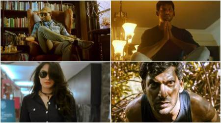 Thupparivaalan teaser: Vishal's movie centers on finding clues, fighting and intense close-ups. Watch video