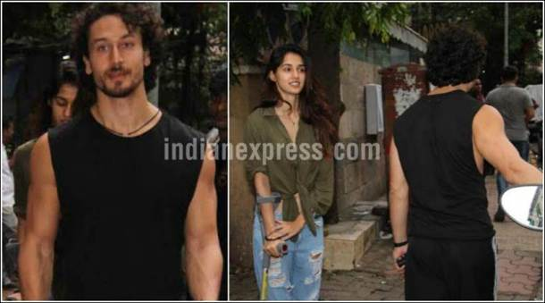 tiger shroff, disha patani, disha tiger outings, disha tiger images