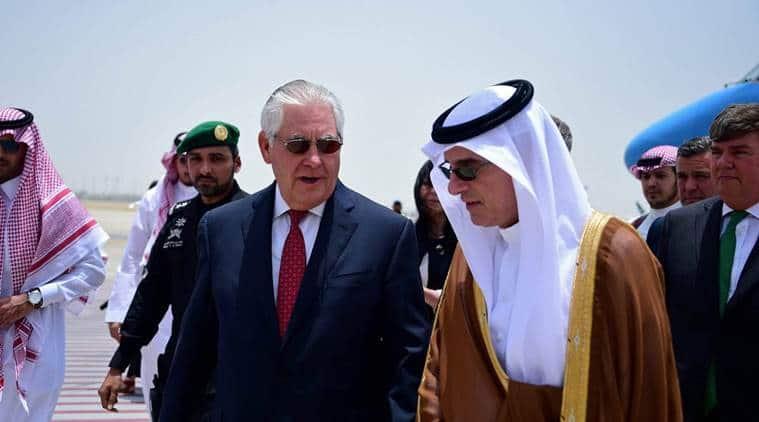 rex tillerson, qatar crisis, saudi arabia, gulf countries, us secretary of state, world news, indian express