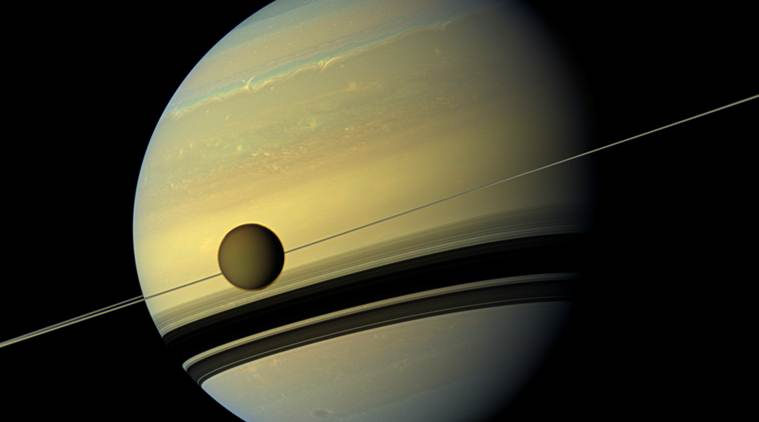 Titan, Saturn's moon, Saturn's moon Titan, planet, cryosphere, radar, Earth and Planetary Science Letters, NASA, new research, new study, Science, Science News