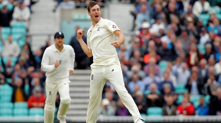 Toby Roland-Jones, Toby Roland-Jones Test debut, England vs South Africa, Eng vs SA, South Africa tour of England 2017, Cricket news, Indian Express