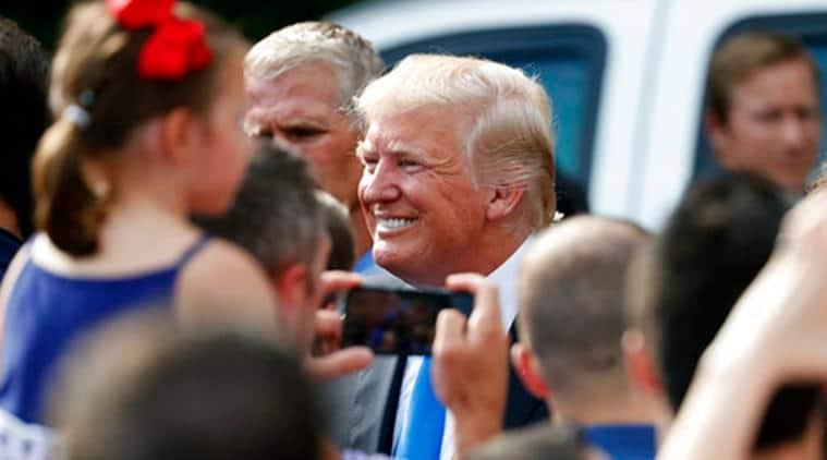 Donald Trump, US President Donald Trump, Donald Trump Poland, US President Poland, US President Poland Visit, Trump Poland Visit, Donald Trump Poland Visit, World News, Latest World News, Indian Express, Indian Express News