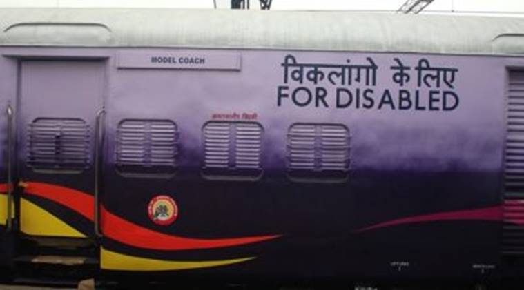 Indian Railways, Disabled, Train