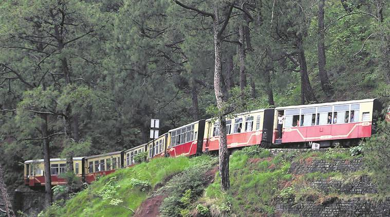 UNESCO World Heritage site, UNESCO World Heritage track, Northern Railway, Kalka-Shimla Train Ride, Indian express, India news