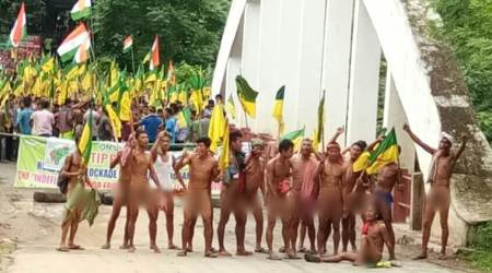 What is the Tipraland movement that has brought life to a halt in Tripura?