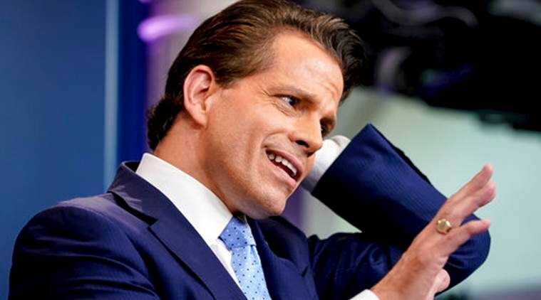 Image result for Scaramucci is Trump's new communications director