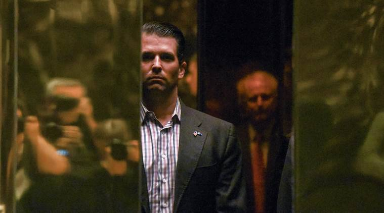 Donald Trump, Donald Trump's son, email chain, russian interference in US election, email hack, Russian aid, Trump's son, us election emails, world news, indian express