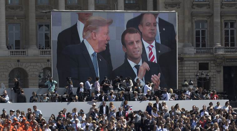 Smart move: Emmanuel Macron's entente cordiale with Donald Trump
