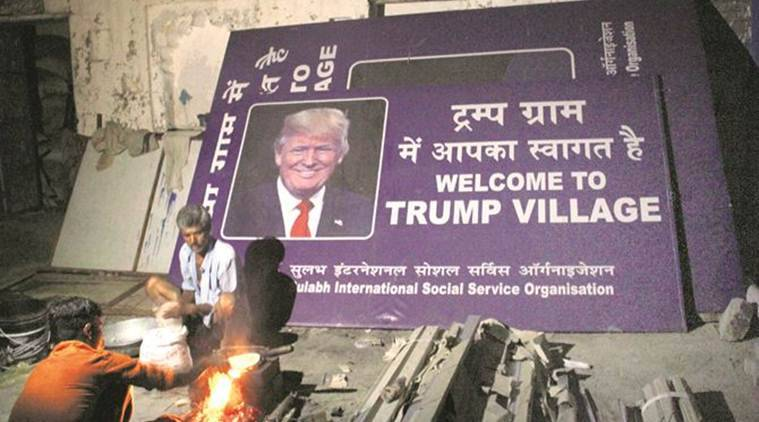 Marora Village, Mewat district, Haryana, trump village, Haryana trump village, trump village Marora Village, Donald Trump, india news