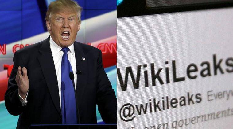 US elections and Wikileaks, Wikileaks helped Donald Trump, Wikileaks helped Donald Trump in Elections, Donald Trump news, Donald Trump and Wikileaks news, World news, international news, latest news