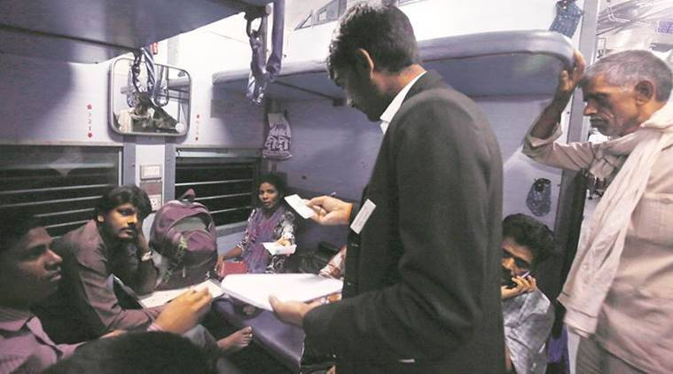 TTE fined Rs 25,000, TTE Video Social Media, Travelling Ticket Examiner (TTE), Mahakoshal Express Delhi-Jabalpur-Delhi, A day in the life of a TTE, Indian Railways, MS Dhoni: The Untold Story, Indian Express News