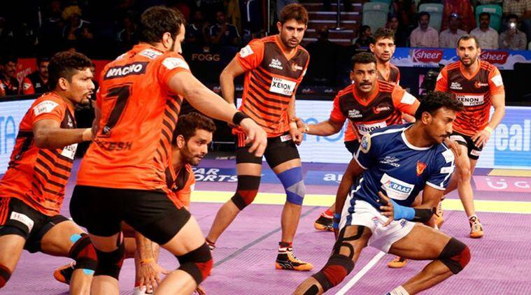 Pro Kabaddi League, U mumba, Supratik Sen, Haryana Steelers, Tamil Thalaivas, Gujarat Fortunegiants, UP Yoddha, Kabaddi news, sports news, indian express