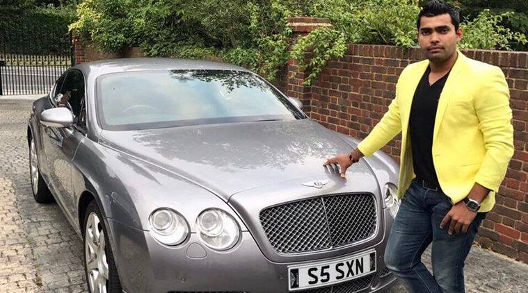 Umar Akmal Posed With Bentley And Twitterati Had a Field Day