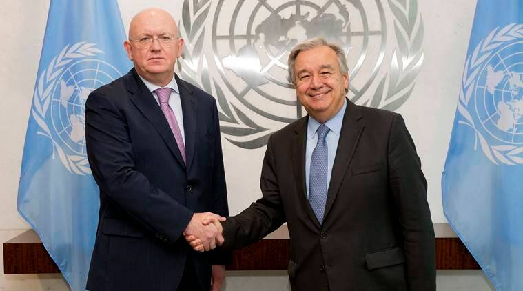 UN, United Nations, Russia UN, General Antonio Guterres, Vassily Nebenzi, latest news, latest world news