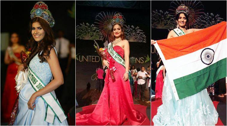 united nations beauty contest, miss united nations, ms united nations 2017, mrs united nations 2017, indians women win united nations pageant, fashion news, indian express