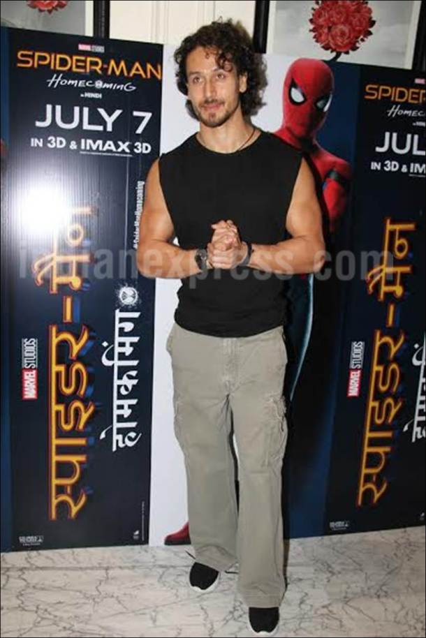 tiger shroff, tiger shroff images, tiger shroff dubbing spiderman homecoming, spiderman homecoming