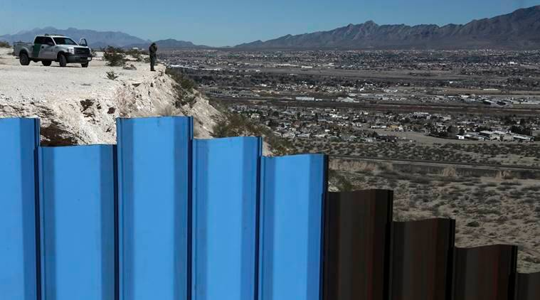 Mexican border wall, Donald Trump, Trump administration on Mexican border wall, WNIS, US Mexico border wall construction, world news, indian express news