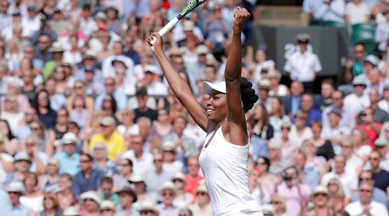 Crowds out in force as Venus Williams targets sixth Wimbledon title