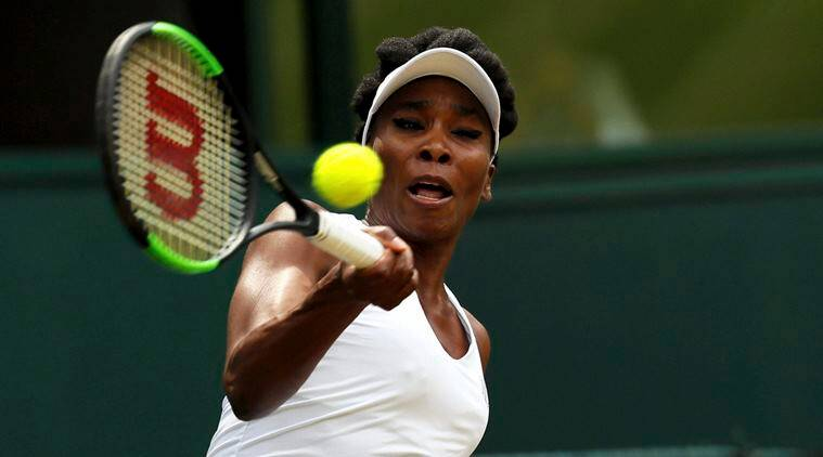 venus williams, williams, Jelena Ostapenko, venus, wimbledon 2017, wimbledon, wimbledon quarterfinals, tennis, sports news, indian express