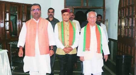 Himachal BJP executive meet: Shanta Kumar attacks CM Virbhadra Singh, says time for him to exitgracefully