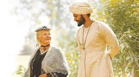 victoria n abdul movie, judi dench, ali fazal, indian express