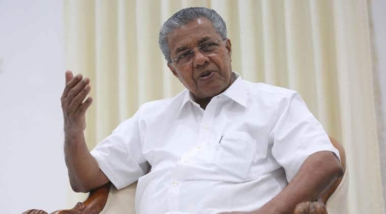 cyclone ockhi, Kerala CM, Pinarayi Vijayan, Vijayan briefs governor PSathasivam, India news, indian express news