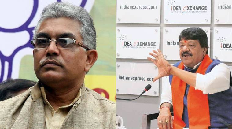 West bengal communal clashes, Kailash vijayvargiya, Dilip Ghosh, Basirhat protests, baduria clashes,