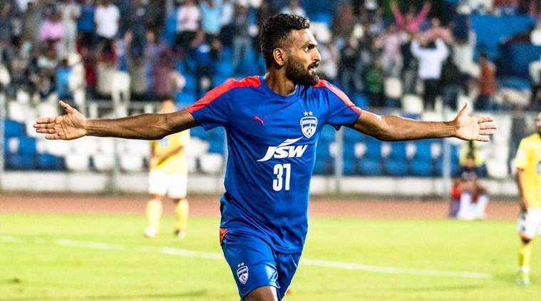 ck vineeth, vineeth, bengaluru fc, ileague, federation cup, isl, indian super league, football, sports news, indian express