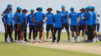 Team India at old fort with renewed interest