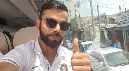 India vs Sri Lanka: Virat Kohli-led India travel to Galle from Colombo for first Test; see pic