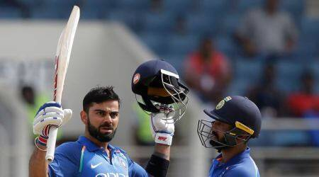 India v West Indies, 5th ODI: After landmark century, older Virat celebrates like Virat of the old