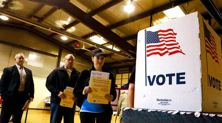 US State election, US Presidential Election Security, Indianapolis Presidential Election Security, US Presidential Election Security, World News, Latest World News, Indian Express, Indian Express News