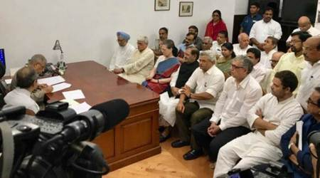 Vice-President election: Gopal Krishna Gandhi files nomination, wants to bridge gap between people and politics